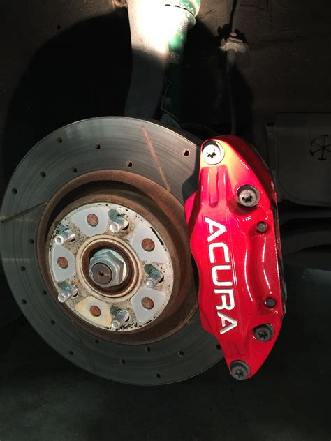 acura rl calipers acura rl calipers powedercoated forgestarf14 wheels