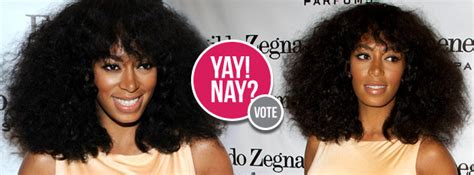 Yay Or Nay Wednesday 7 by Yay Or Nay Solange Knowles Does A Slit Dress