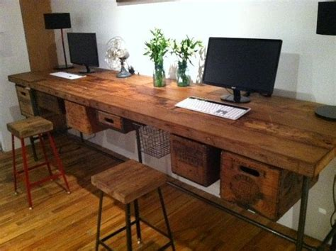 Reclaimed Computer Desk 25 Best Ideas About Solid Wood Desk On Solid Wood Desk And Office Desks For Home