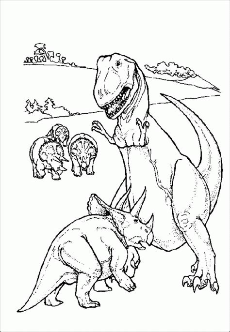 realistic dinosaur coloring page realistic dinosaur coloring pages coloring home