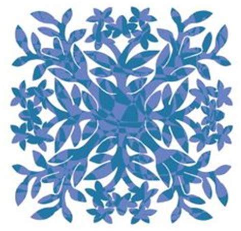 printable hawaiian snowflakes hawaiian and snowflakes paper cut quilts on pinterest