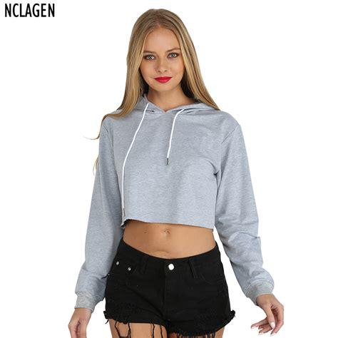 Jaket Sweater Hoodie For Persija Hoodie nclagen fashion casual hooded hoodie sleeve stylish crop top autumn