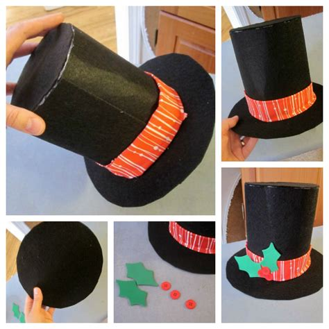 pattern for felt top hat 5 best images of printable frosty the snowman hat frosty