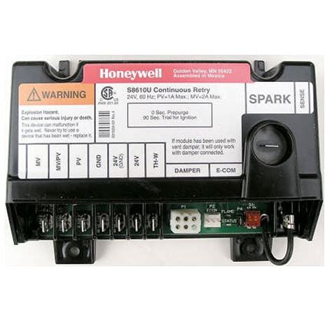 integrated circuit ignition system replacement for honeywell furnace integrated pilot module ignition circuit board s8670k