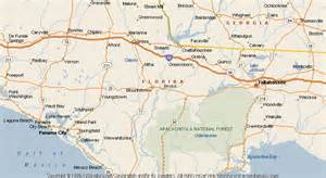 bristol florida map map of bristol
