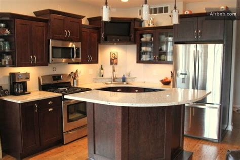 best small flat screen tv for kitchen kitchen with granite countertops new appliances and flat