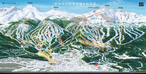 breckenridge ski map breckenridge ski area trail map 2005 06 breckenridge co mappery