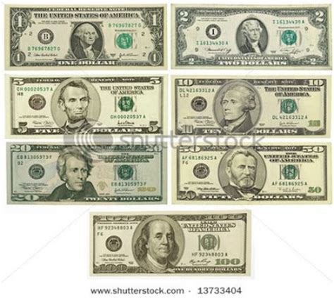 all us currency bills sanity check show me the money