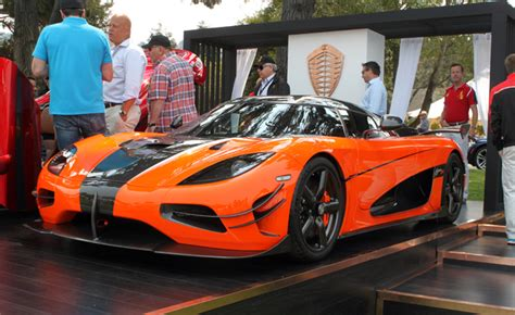 koenigsegg agera xs red koenigsegg agera xs is the perfect fit at pebble beach