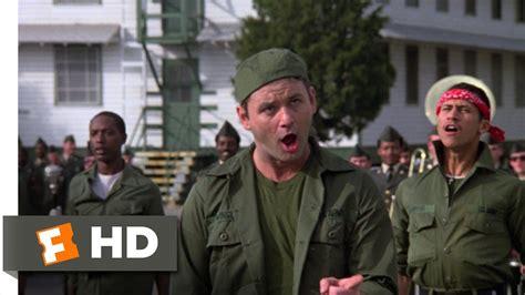 bill murray military movie razzle dazzle at graduation stripes 8 8 movie clip