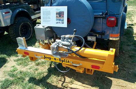 Jeep Pto Jeep Willys Overland Pto Mounted Log Splitter
