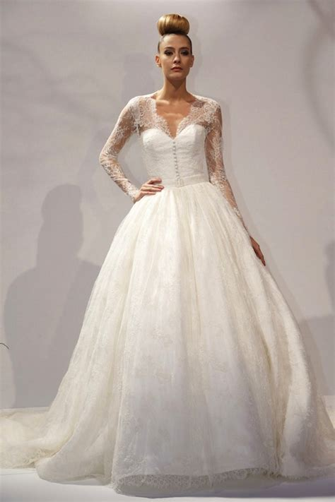 Wedding Gowns Lace Sleeves by 30 Gorgeous Lace Sleeve Wedding Dresses