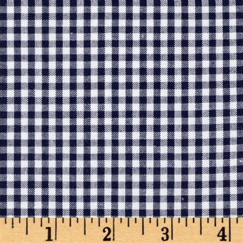 gingham upholstery fabric kaufman 1 quot carolina gingham denim discount designer