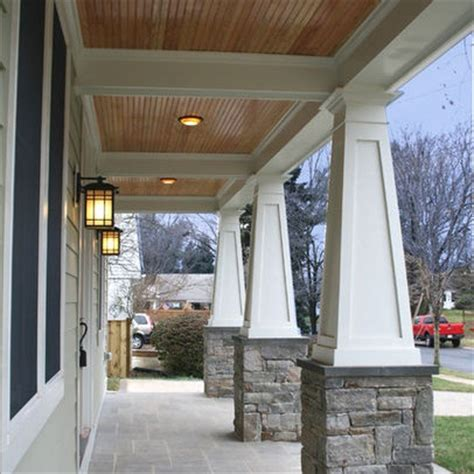 Beadboard Porch Ceiling Ideas by Beadboard Ceilings On Porch Bead Board Front Gable Ceiling