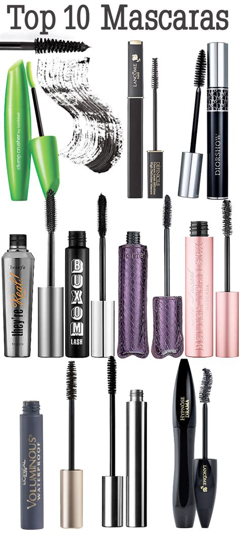 7 Great Mascaras For by Top 10 Mascaras Beautiful Makeup Search