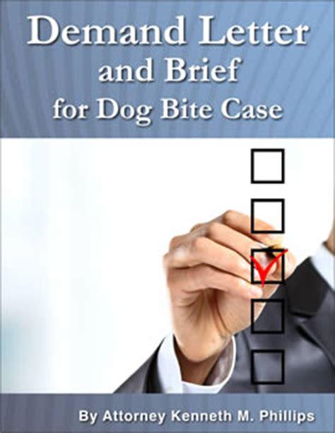 Demand Letter Bite Demand Letter And Brief For Bite