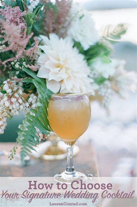 wedding bells create your signature wedding drink