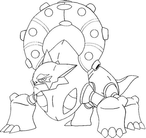 Jangmo O Coloring Page by Hoopa Coloring Pages D