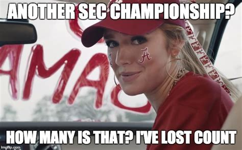 Sec Memes - the most ridiculous sec chionship game memes circling
