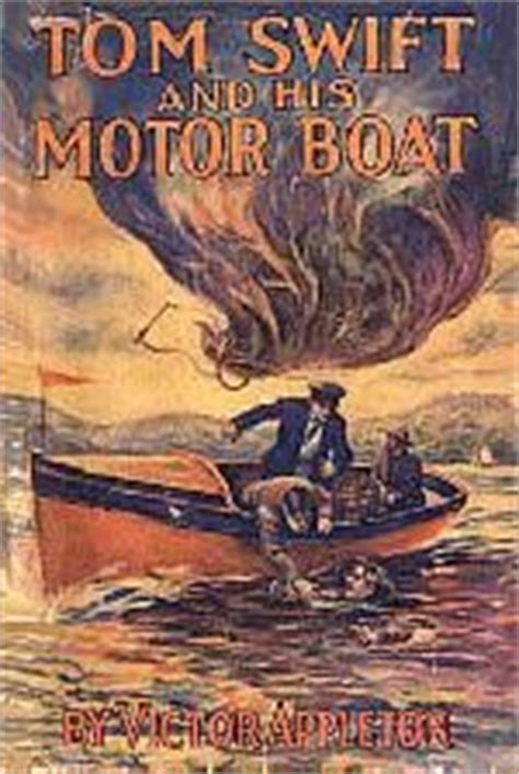 boat crash barton lake the tom swift series by victor appleton