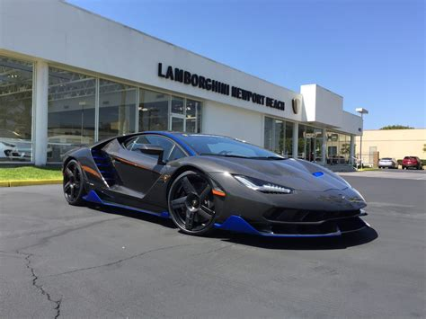 first lamborghini first lamborghini centenario in the u s arrives at