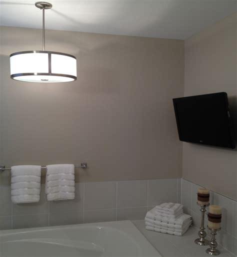 bathroom light installation tub wiring ceiling fan installation pot light