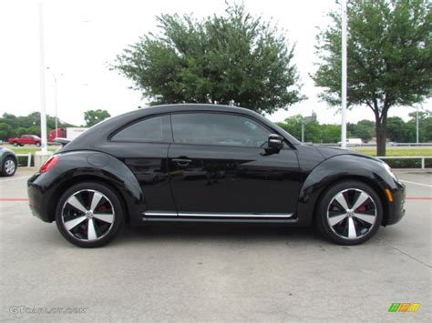 volkswagen black black 2012 volkswagen beetle turbo exterior photo