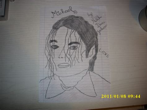 how todraw a 12 year old boy my mj drawing i know that i don t draw him best