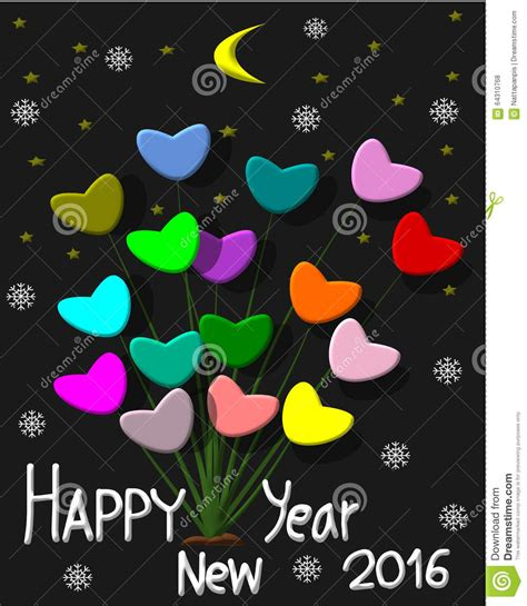 new year greeting card design greeting card design happy new year 2016 stock