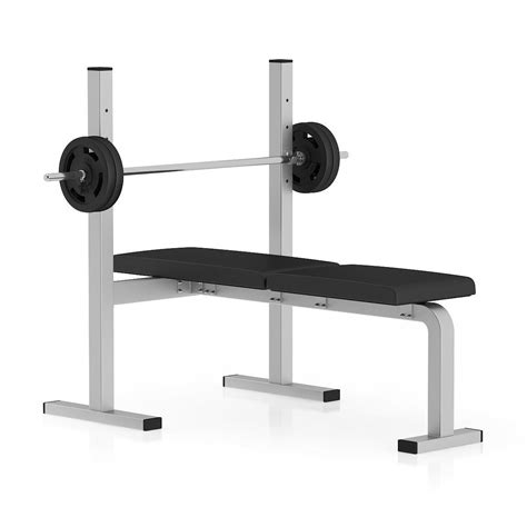 modells workout bench flat weight bench 3d model max obj fbx c4d mtl cgtrader com