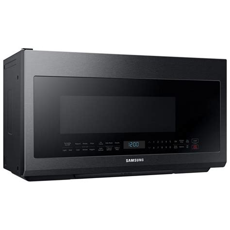 Microwave Oven Merk Samsung me21m706bag samsung appliances 2 1 cu ft 1000w otr