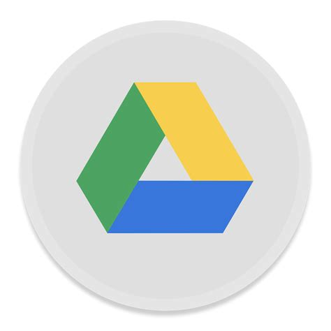drive icon google drive icon button ui app pack one iconset