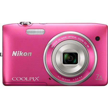 nikon pink coolpix s3500 digital camera with 20.1