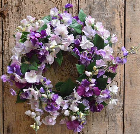 fiore piselli odorosi ghirlanda pisello odoroso coroncine e sfere di fiori