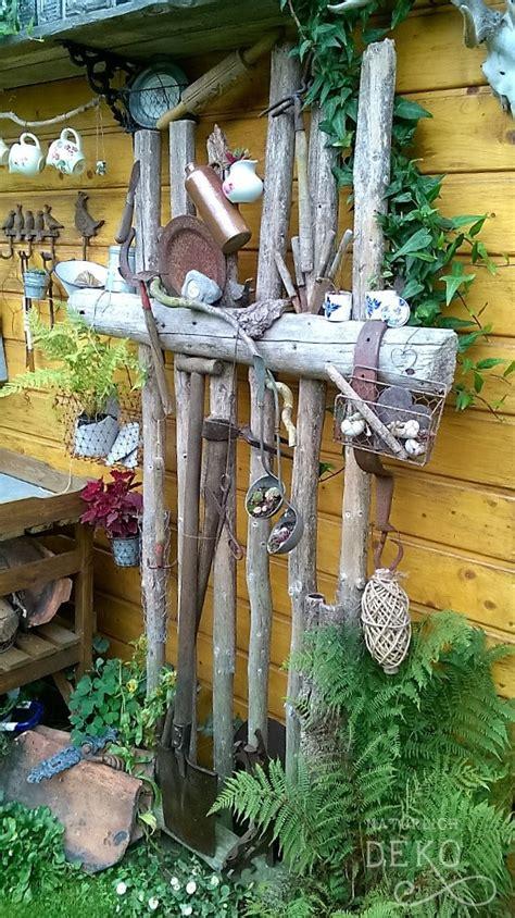 Gartendeko Mit Altem Holz by Garten T R 228 Ume Nat 252 Rlich Deko