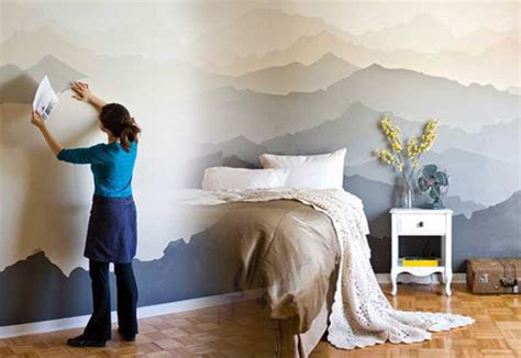 wall murals diy cool cheap but cool diy wall ideas for your walls