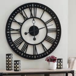 wall clocks canada home decor 30 large wall clocks that don t compromise on style