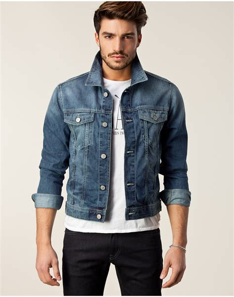 Jaket Wash Pull Quality the quintessential denim jacket an iconic of mens