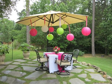 high school graduation ideas backyard high