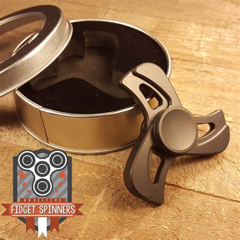 Fitged Spinner Metal Steel edc stainless steel or aluminum turbine fidget spinner