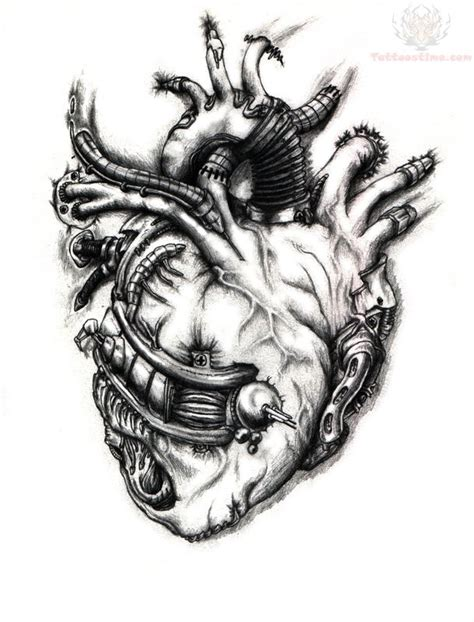 hard tattoo designs mechanical design