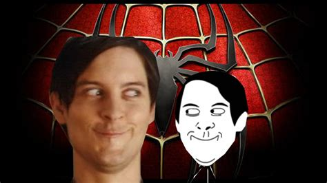 Spiderman Meme Face - original spiderman face meme origin video clip youtube