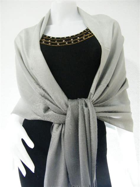 Pashmina Instan Felicia 2 Tone pashmina two tone shawls gray two tone pashmina shawl