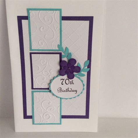 70th Birthday Card 70th Birthday Card Cards Pinterest