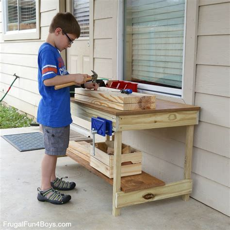 woodworking for boys workbench plans build your own woodworking space