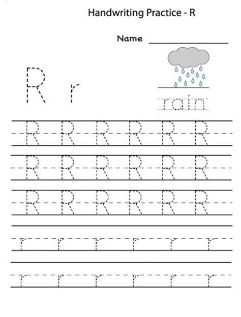 Letter R Worksheets Preschool