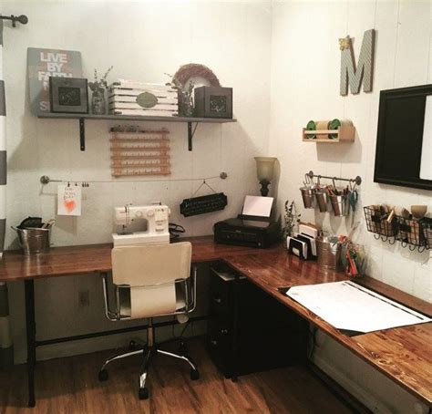 office workspace build your own wood pipe desk tutorial pipe desk and craft work