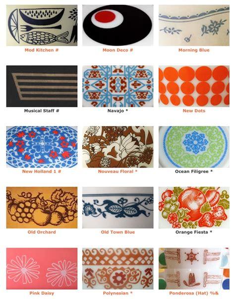 vintage pyrex pattern list pyrex patterns 7 pyrex pinterest pyrex patterns and