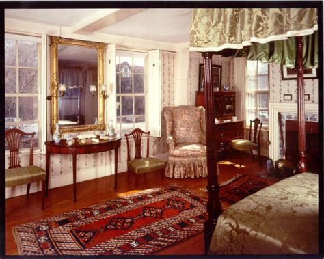 Presidents Bedroom The House At Peacefield Quincy Ma President S