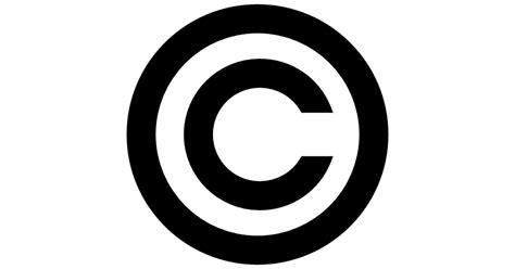 copyright symbol free shapes icons